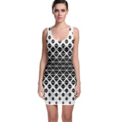 Triangle Pattern Background Bodycon Dress