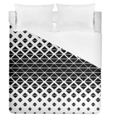 Triangle Pattern Background Duvet Cover (queen Size) by BangZart