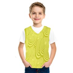 Yellow Oval Ellipse Egg Elliptical Kids  Sportswear