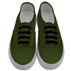 Pattern Halftone Background Dot Men s Classic Low Top Sneakers