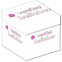 Verified Belieber Storage Stool 12   by Valentinaart