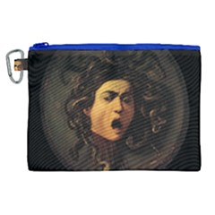 Medusa Canvas Cosmetic Bag (xl) by Valentinaart