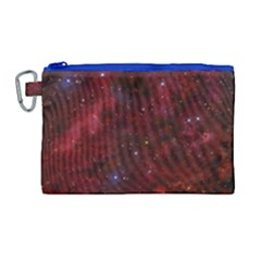 Abstract Fantasy Color Colorful Canvas Cosmetic Bag (large)