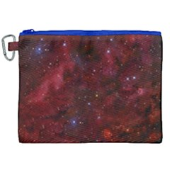 Abstract Fantasy Color Colorful Canvas Cosmetic Bag (xxl)
