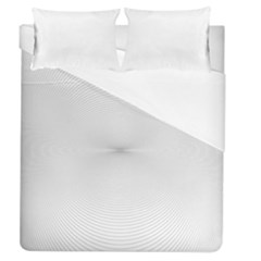 Background Line Motion Curve Duvet Cover (queen Size)
