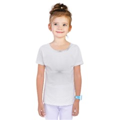 Background Line Motion Curve Kids  One Piece Tee