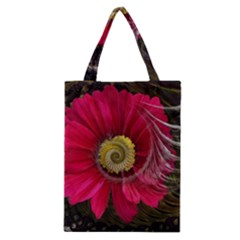 Fantasy Flower Fractal Blossom Classic Tote Bag by BangZart