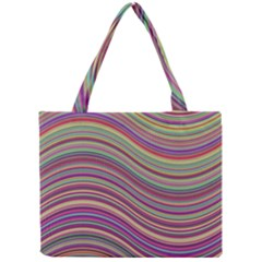 Wave Abstract Happy Background Mini Tote Bag