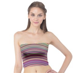 Wave Abstract Happy Background Tube Top