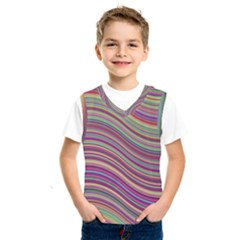 Wave Abstract Happy Background Kids  SportsWear