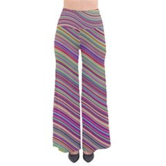 Wave Abstract Happy Background Pants