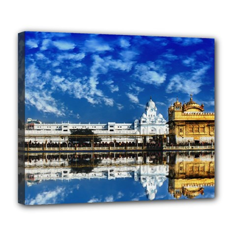 India Punjab Amritsar Sikh Deluxe Canvas 24  X 20   by BangZart