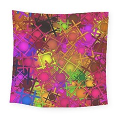 Fun,fantasy And Joy 5 Square Tapestry (large)