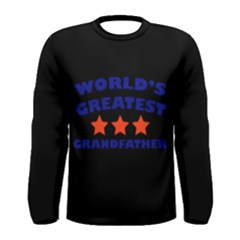 World Greatest Grandfather Men s Long Sleeve Tee
