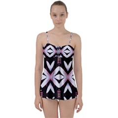 Japan Is A Beautiful Place In Calm Style Babydoll Tankini Set by pepitasart