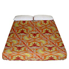 Universe Pattern Fitted Sheet (queen Size) by Cveti