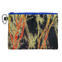 Artistic Effect Fractal Forest Background Canvas Cosmetic Bag (xl) by Amaryn4rt