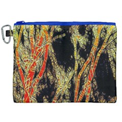 Artistic Effect Fractal Forest Background Canvas Cosmetic Bag (xxl) by Amaryn4rt