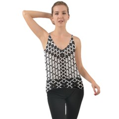 Flower Of Life Grey Cami by Cveti