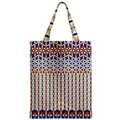 Flower Of Life Pattern 2 Zipper Classic Tote Bag
