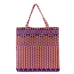 Flower Of Life Pattern 3 Grocery Tote Bag