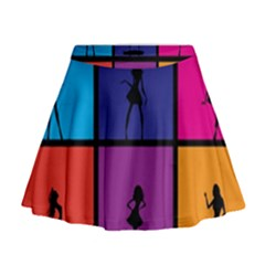 Girls Fashion Fashion Girl Young Mini Flare Skirt by Celenk