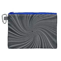 Abstract Art Color Design Lines Canvas Cosmetic Bag (xl) by Celenk