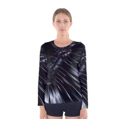 Fractal Mathematics Abstract Women s Long Sleeve Tee