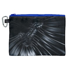 Fractal Mathematics Abstract Canvas Cosmetic Bag (xl) by Celenk