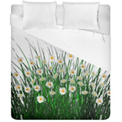 Spring Flowers Grass Meadow Plant Duvet Cover Double Side (california King Size) by Celenk