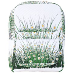 Spring Flowers Grass Meadow Plant Full Print Backpack by Celenk