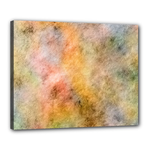 Texture Pattern Background Marbled Canvas 20  X 16  by Celenk