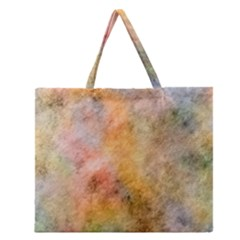 Texture Pattern Background Marbled Zipper Large Tote Bag