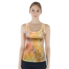 Texture Pattern Background Marbled Racer Back Sports Top by Celenk