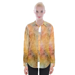 Texture Pattern Background Marbled Womens Long Sleeve Shirt