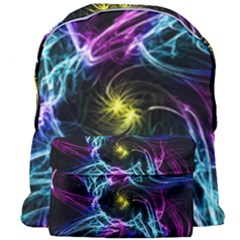 Abstract Art Color Design Lines Giant Full Print Backpack