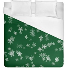 Template Winter Christmas Xmas Duvet Cover (king Size) by Celenk