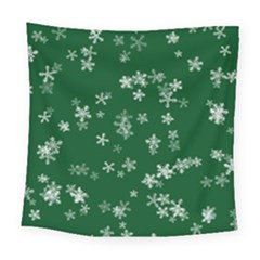 Template Winter Christmas Xmas Square Tapestry (large) by Celenk