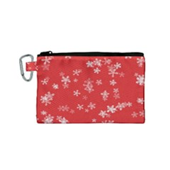 Template Winter Christmas Xmas Canvas Cosmetic Bag (small)