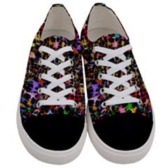 Network Integration Intertwined Women s Low Top Canvas Sneakers