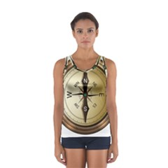 Compass North South East Wes Sport Tank Top