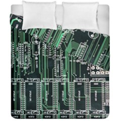 Printed Circuit Board Circuits Duvet Cover Double Side (california King Size) by Celenk