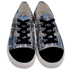 Squad Latvia Architecture Men s Low Top Canvas Sneakers