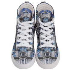 Squad Latvia Architecture Women s Hi Top Skate Sneakers