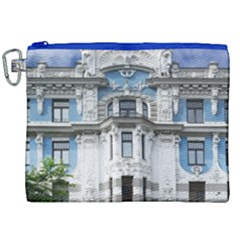Squad Latvia Architecture Canvas Cosmetic Bag (xxl)