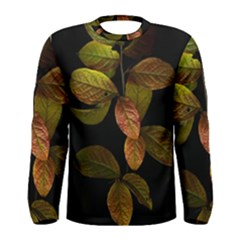 Autumn Leaves Foliage Men s Long Sleeve Tee