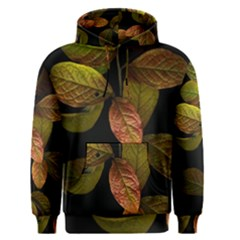 Autumn Leaves Foliage Men s Pullover Hoodie