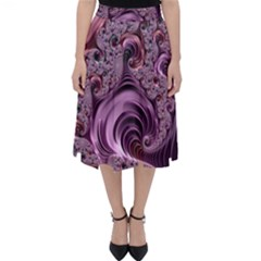 Abstract Art Fractal Folding Skater Skirt