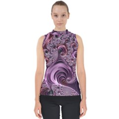 Abstract Art Fractal Shell Top