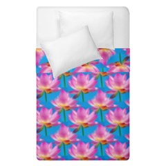 Seamless Flower Pattern Colorful Duvet Cover Double Side (single Size) by Celenk